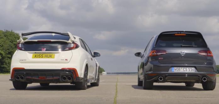 Civic Type R vs Golf GTI Clubsport S