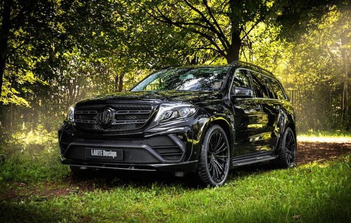 Mercedes GLS Black Crystal by Larte Design (4)