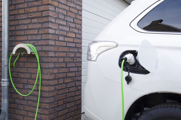 Charging of an electric car at home