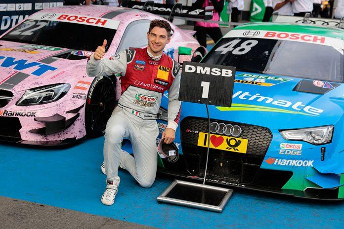 Motorsports: DTM race Nürburgring 2016, #48 Edoardo Mortara (ITA, Audi Sport Team Abt Sportsline, Audi RS5 DTM)