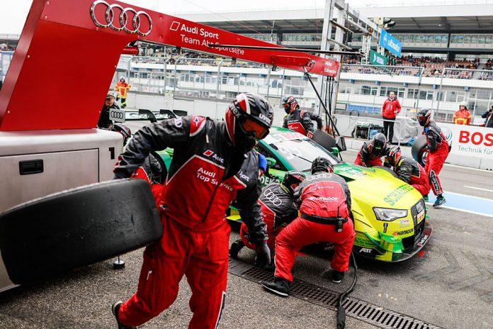 Motorsports: DTM race Hockenheim, Saison 2016 - 9. Event Hockenheimring, GER, #99 Mike Rockenfeller (GER, Audi Sport Team Abt Sportsline, Audi RS5 DTM)
