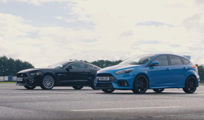 mustang-vs-focus-rs
