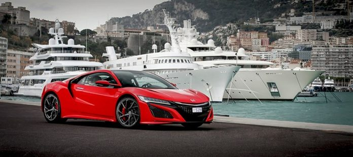 First European NSX delivered to Honda ambassador Claude Sage
