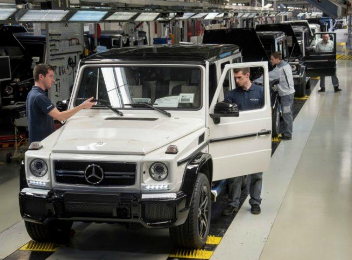 20.000 Mercedes-Benz G-Klasse