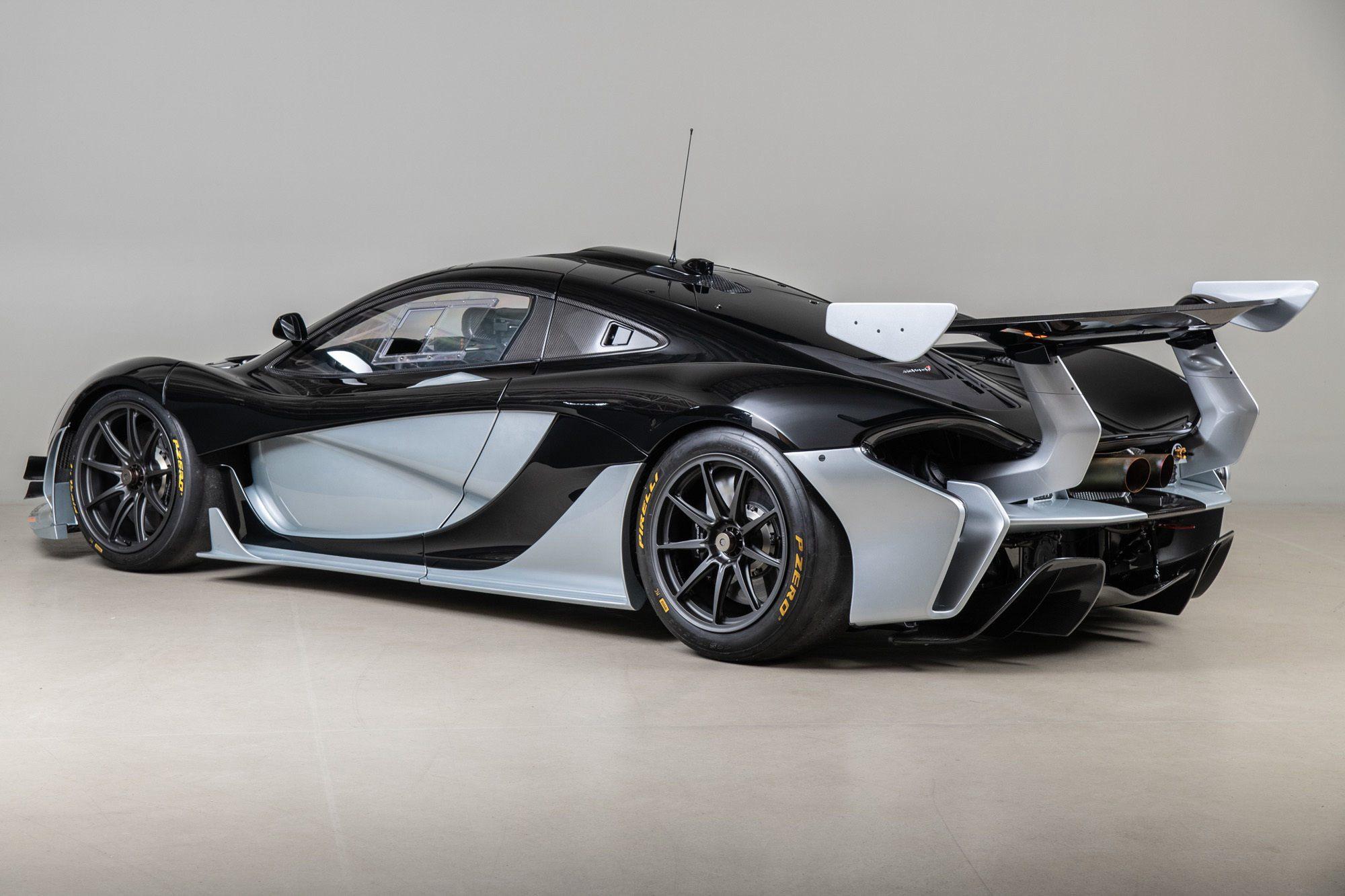 Ένα McLaren P1 GTR προς πώληση με μόλις 455 χλμ