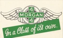 Morgan car brochures