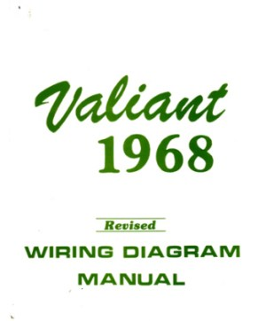 1968 PLYMOUTH VALIANT Wiring Diagrams