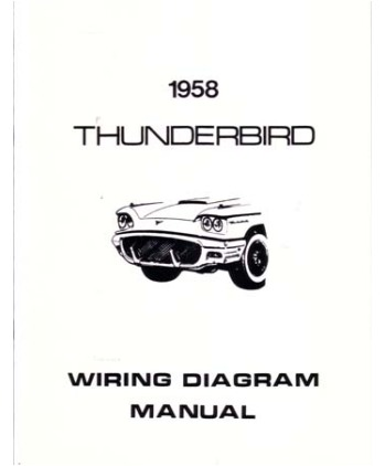 1958 FORD THUNDERBIRD Wiring Diagrams