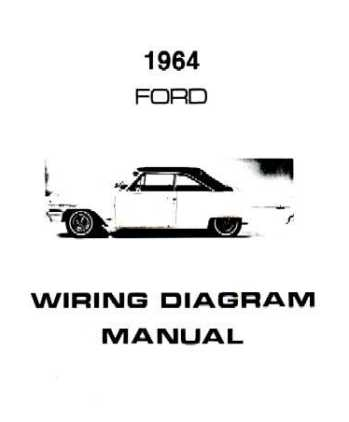 1964 FORD GALAXIE Wiring Diagrams