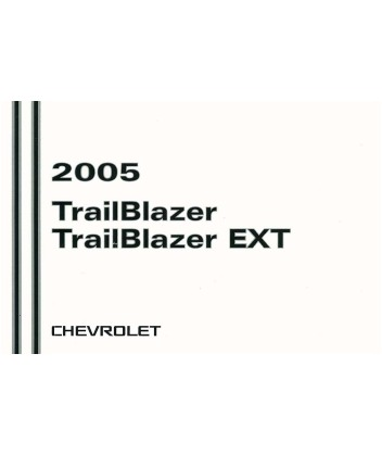 2005 CHEVROLET TRAILBLAZER Owners Manual