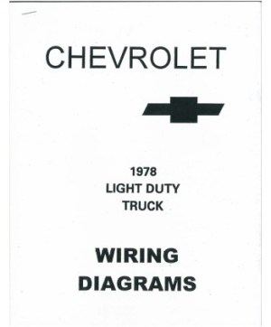 1978 CHEVROLET TRUCK Wiring Diagrams