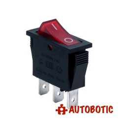 Lighted Rocker Switch Diagram Leviton L14 30 Wiring 3-pin Soken Rk1-11 Premium On/off Spdt 16a/250v With Led (red)