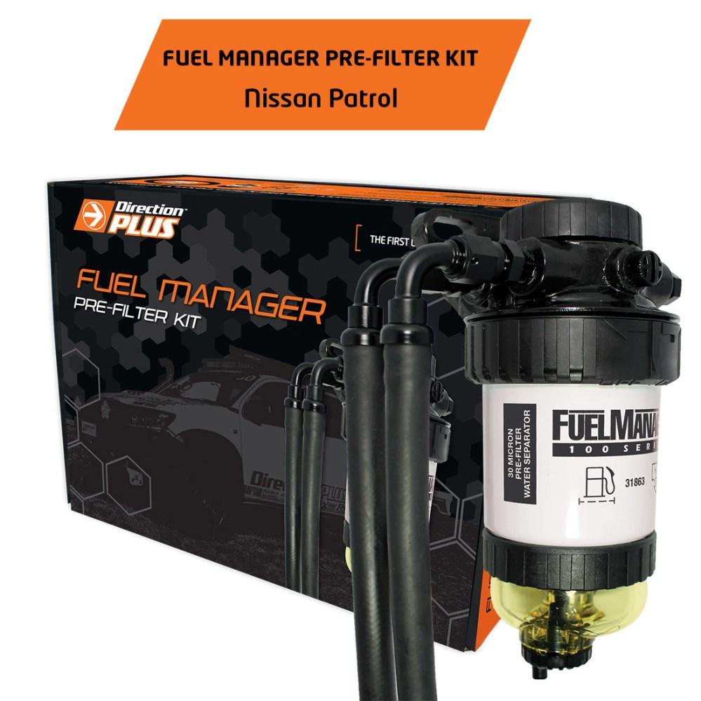 medium resolution of diesel fuel filter water separator pre filter for nissan patrol y61 gu 3 0l 4 2l