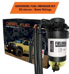 diesel fuel filter water separator universal pre filter common rail diesel kit [ 1600 x 1600 Pixel ]