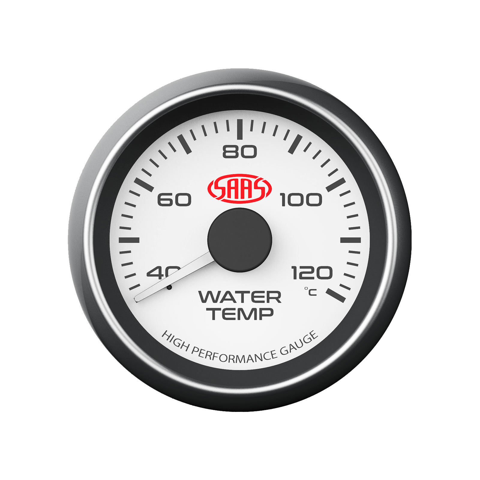 saas water temp gauge wiring diagram light with 3 switches temperature 52mm white face ebay
