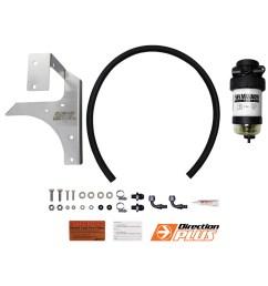 diesel fuel filter water separator suits mitsubishi triton ml mn with bracket [ 1600 x 1600 Pixel ]