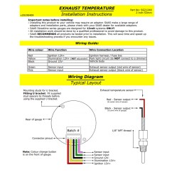 Saas Water Temp Gauge Wiring Diagram Home Theater With Blu Ray Hts 7200 Suche De Street Series Black 900 Ext And 20 Diesel