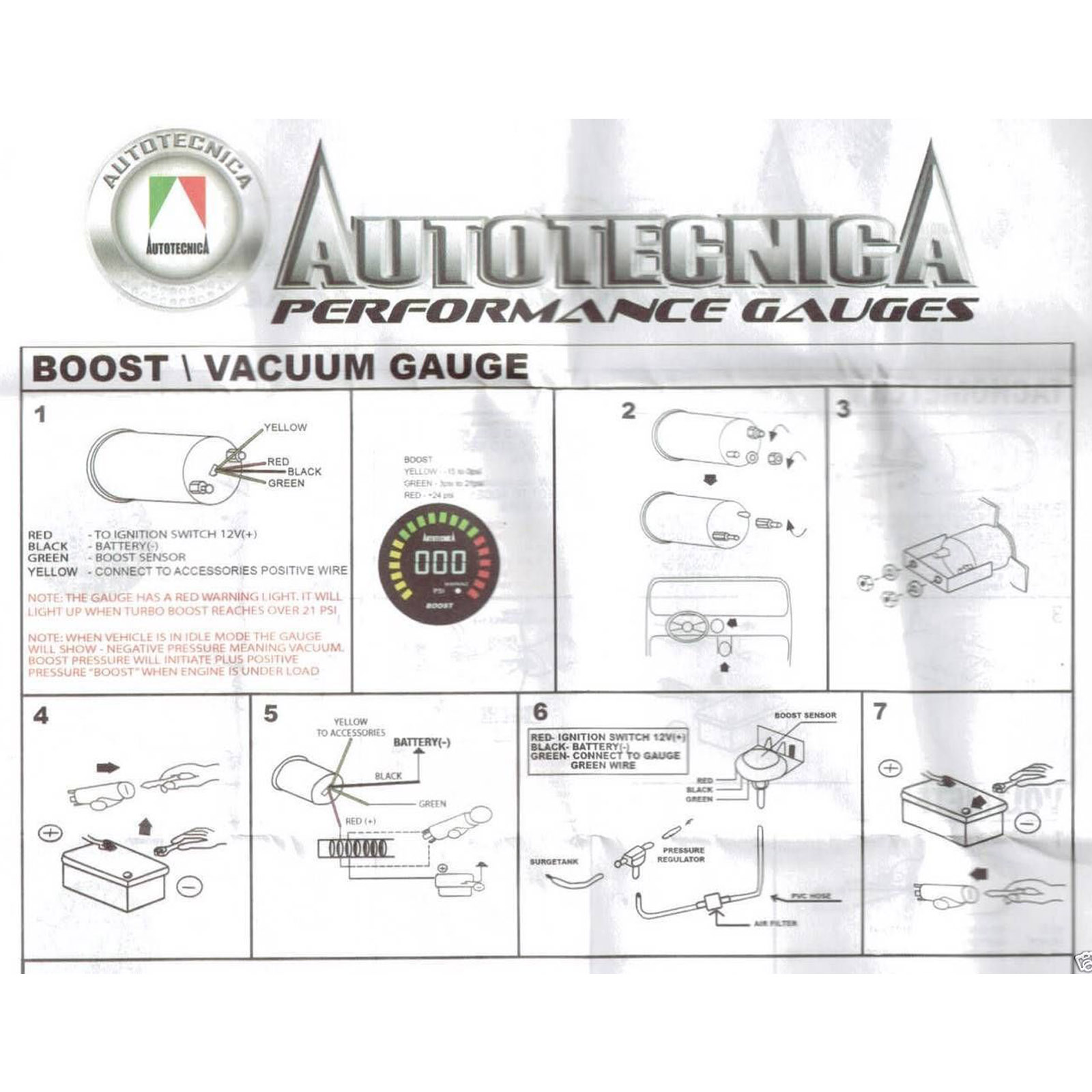 autotecnica water temp gauge wiring diagram parts of a sheep electronic digital turbo petrol boost 52mm for s15 manufacturer number gldb