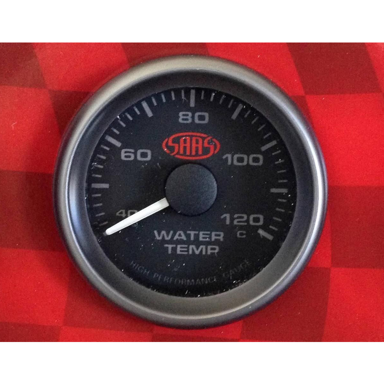 saas water temp gauge wiring diagram land rover discovery 1 40 120 degrees temperature black