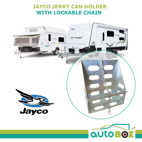 small resolution of jayco jerry can holder lockable rv caravan camper trailer expanda pop top c1951