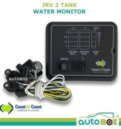 jrv 2 water tank battery level indicator caravan gauge w volt tank probes 12v [ 1600 x 1600 Pixel ]