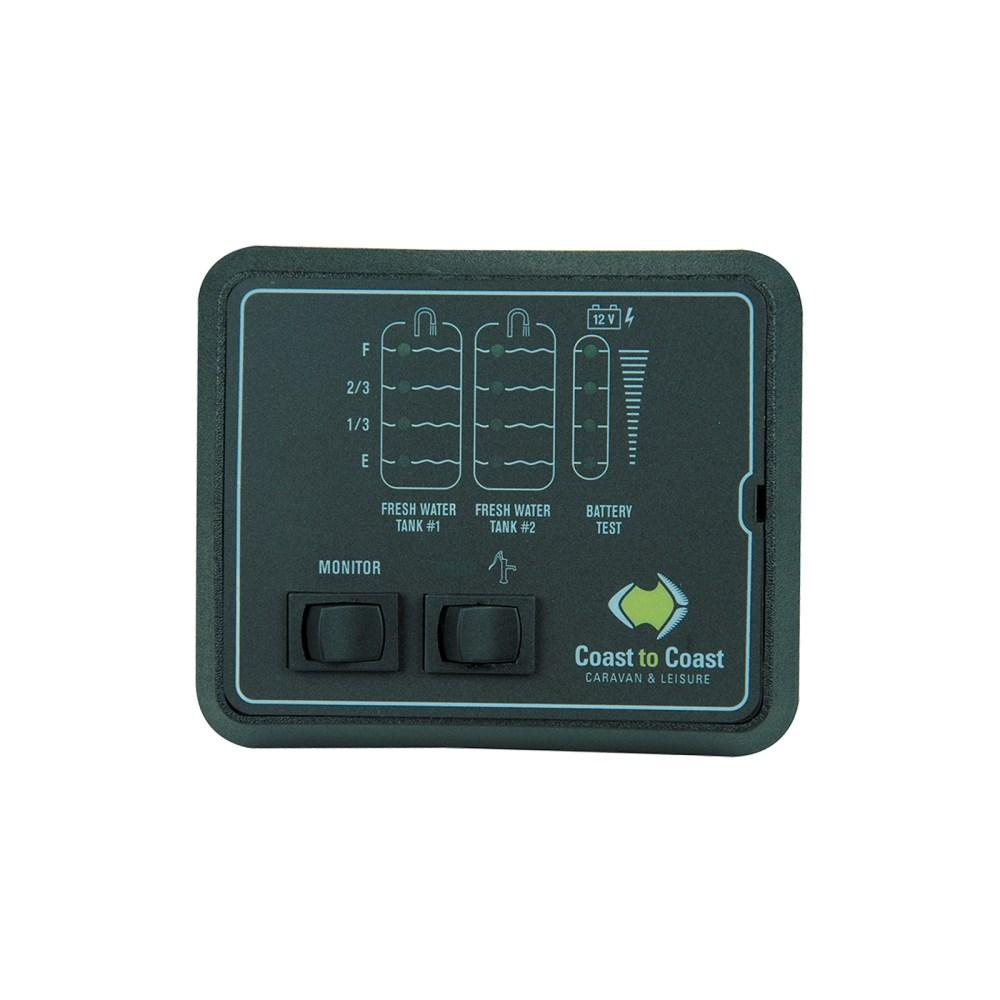 medium resolution of jrv 2 water tank battery level indicator caravan gauge w volt tank probes 12v