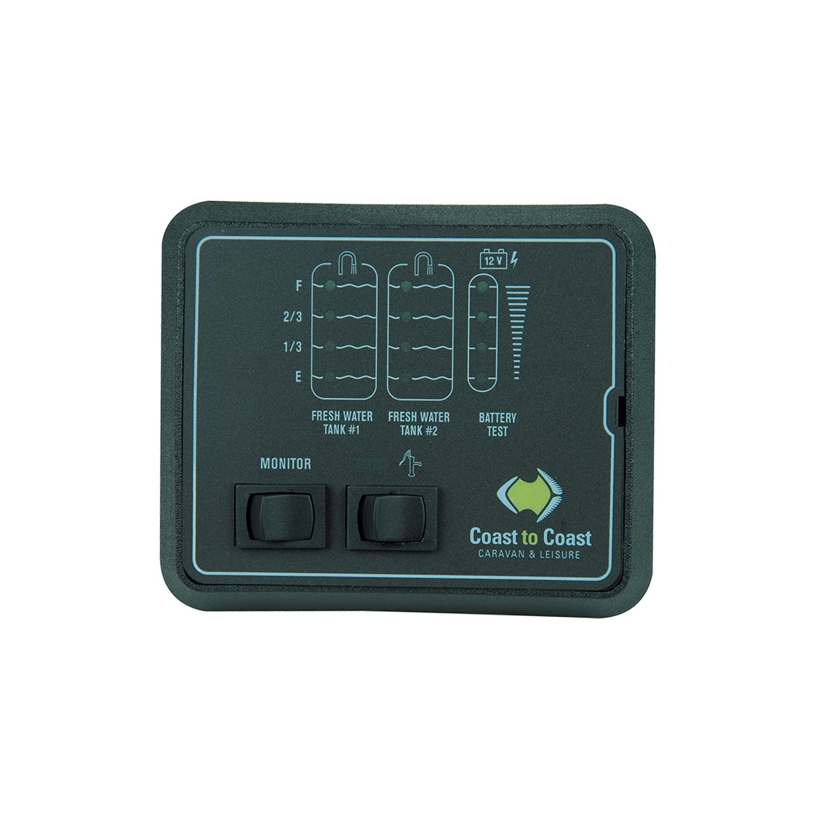 hight resolution of jrv 2 water tank battery level indicator caravan gauge w volt tank probes 12v