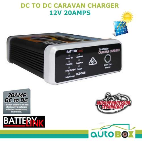 small resolution of dc dc 12v 20amp dual battery charger mppt solar input deep cycle caravan camper
