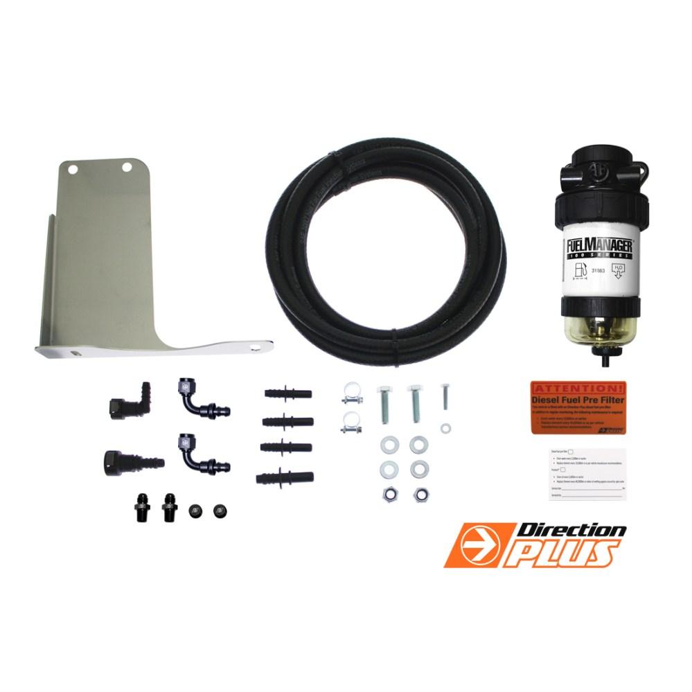 medium resolution of details about diesel fuel filter water separator holden colorado rg 7 with bracket 2012 2016