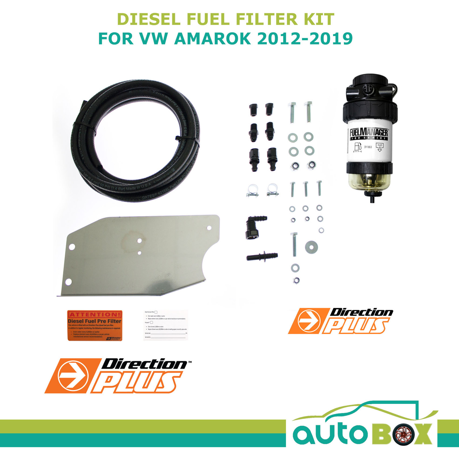 hight resolution of diesel fuel filter water separator for vw amarok all models including bracket