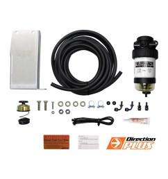 diesel fuel pre filter water separator isuzu dmax tf holden colorado rc bracket [ 1600 x 1600 Pixel ]