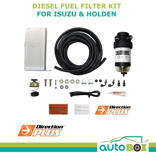 small resolution of diesel fuel pre filter water separator isuzu dmax tf holden colorado rc bracket