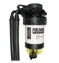 diesel fuel filter water separator universal pre filter mazda bt50 ford ranger [ 1600 x 1600 Pixel ]