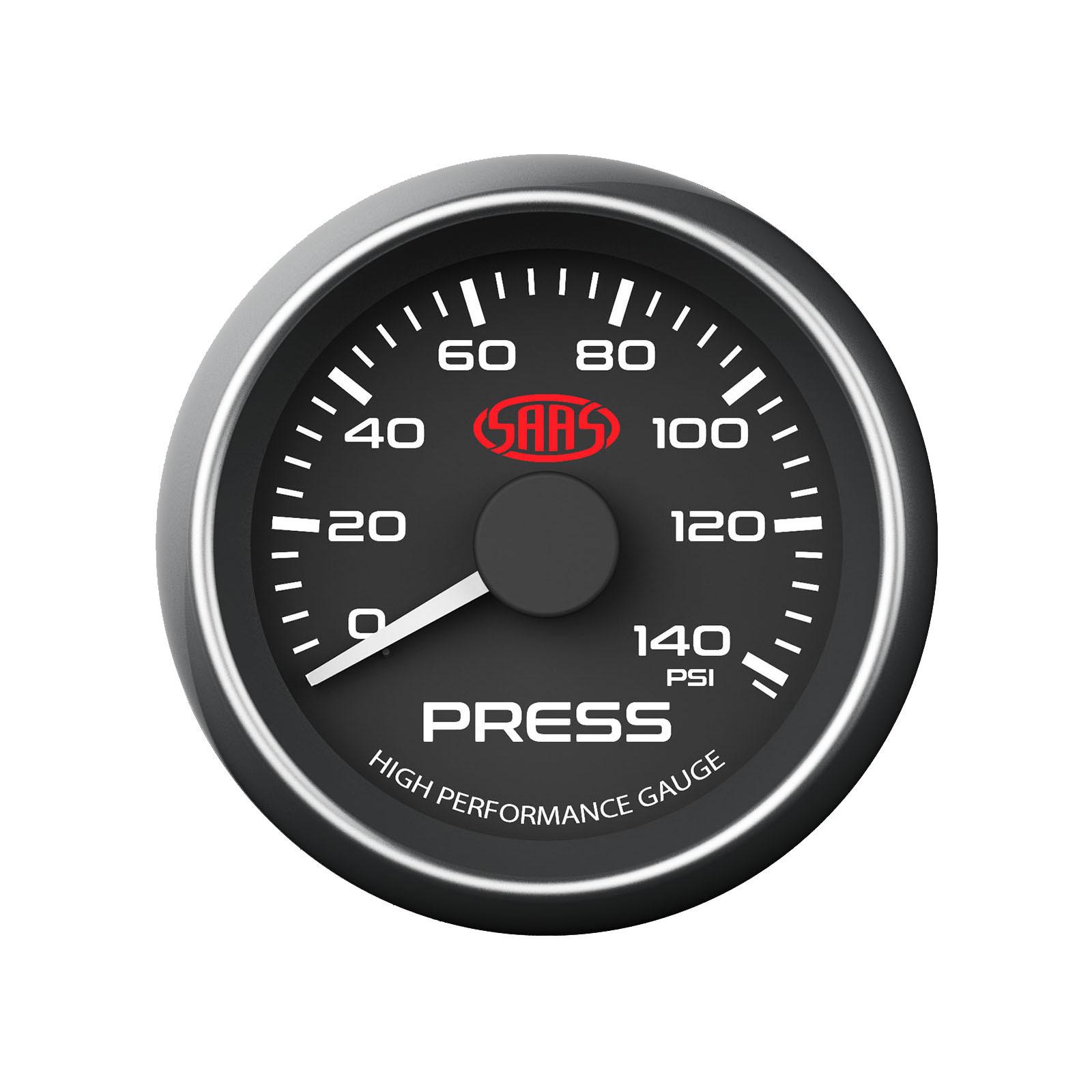saas oil pressure gauge wiring diagram memory hierarchy 52mm black face including sender