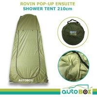 Pop-Up Ensuite Shower Tent Outdoor Camping Toilet Portable ...