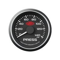 saas oil pressure gauge wiring diagram jeep cj2a 52mm white face including sender autobox 0 140 psi black dial