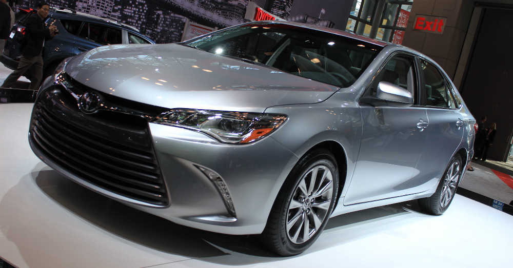 2015 Toyota Camry Gray