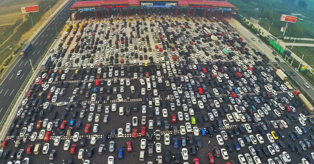 04.23.16 - Chinese Traffic Jam