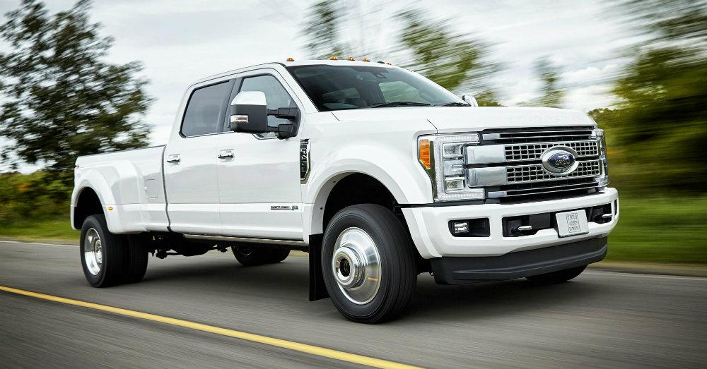 Super Duty Luxury in a Powerful Truck