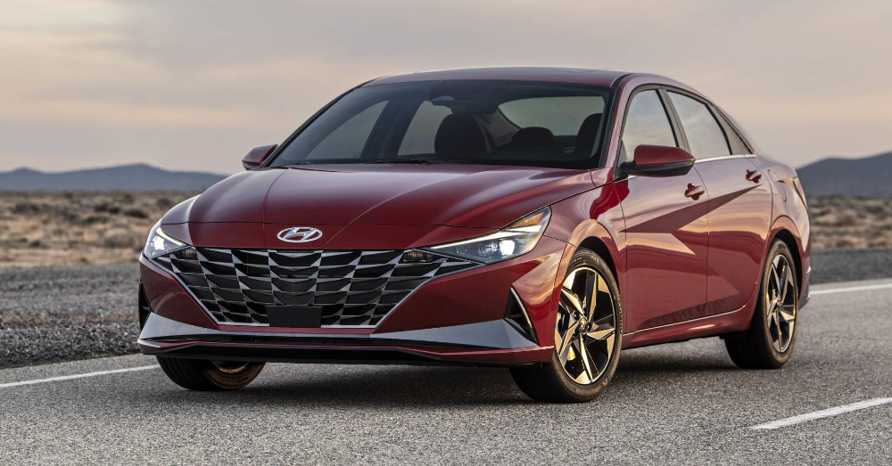 The Hyundai Elantra is more Dramatic