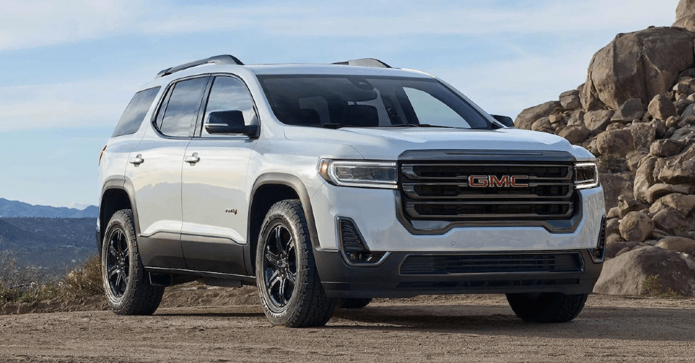 2022 GMC Acadia: Giving You More for Your Drive
