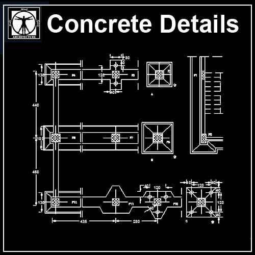 Free Concrete Structure Details 2 Autocad Design Pro