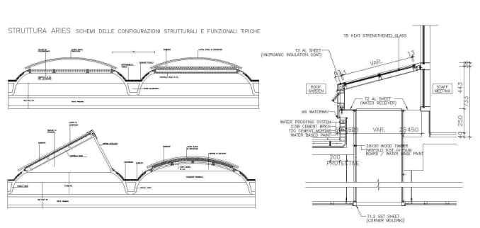 Free Roof Details 4 - Autocad Design Pro-Autocad Blocks