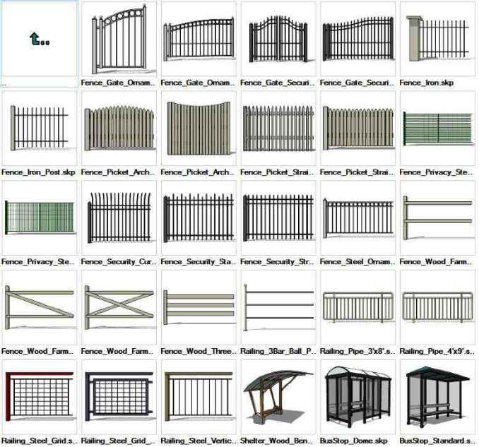 Sketchup Built Constructions 3D models download