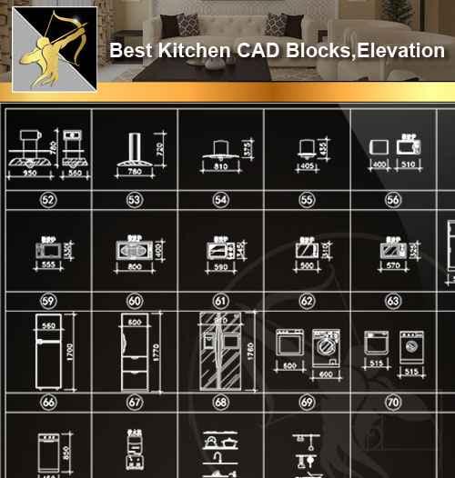 Kitchen CAD Blocks Kitchen CAD Blocks