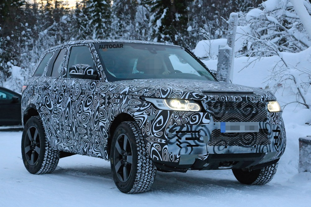 medium resolution of new land rover defender edges closer to production as cold weather testing commences