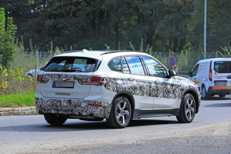 Bmw X1 2019 Facelift Spotted As Hybrid Prototype Website Of