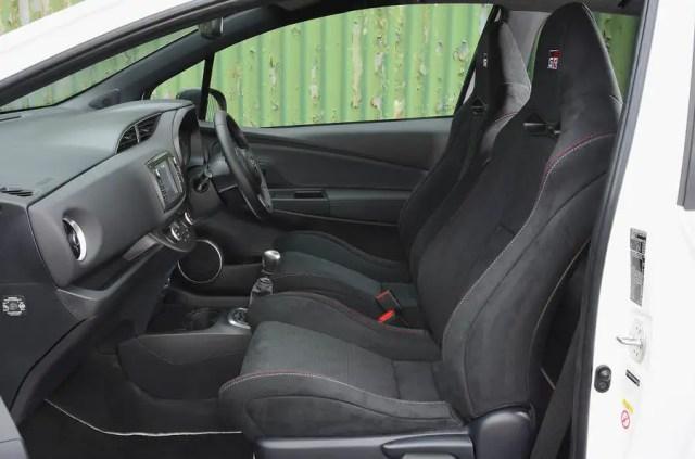 Toyota Yaris GRMN cabin