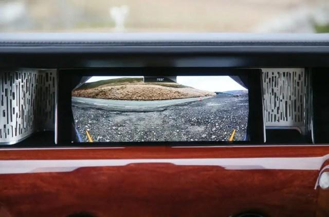 Rolls Royce Phantom 2018 review infotainment reversing camera