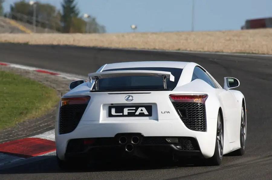 Lexus LFA supercar 48 V10 first drive